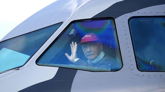 """Gründer Niki Lauda will """"selbstverständlich"""" ein Gebot abgeben"""