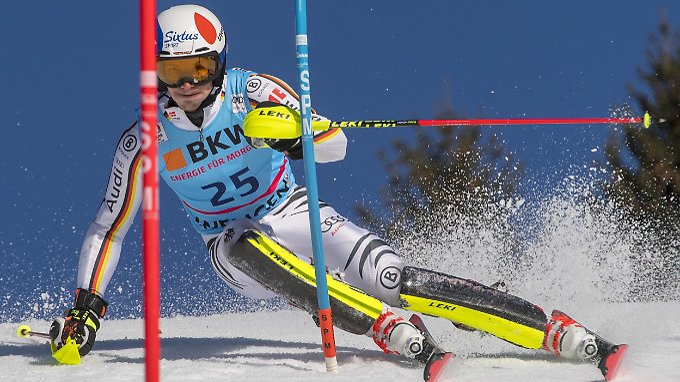 Olympiareif: der deutsche Slalomfahrer Linus Straßer.
