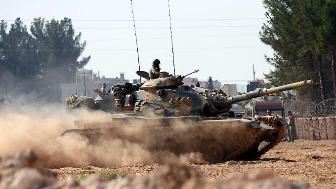 """Türkisches Militär operiert bereits seit August 2016 im Rahmen der """"Operation Schutzschild Euphrat"""" in Nordsyrien."""