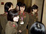 Nord- und Südkorea beraten: Kims Girlgroup könnte bei Olympia auftreten