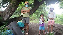 Gefahr auf den Philippinen: 12.000 Menschen fliehen vor Vulkan