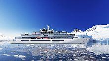 Millionenprojekt im Nordosten: Weltgrößte Luxusjacht entsteht in Stralsund