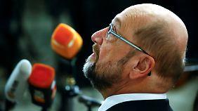 Berliner Landes-SPD gegen GroKo: Schulz wirbt um jede Delegierten-Stimme