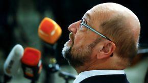 Mächtiger NRW-Verband skeptisch: Schulz kämpft um GroKo und eigene Karriere