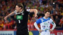 Ausgleich in letzter Sekunde: DHB-Auswahl rettet Punkt gegen Slowenien