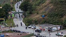 """Tödlicher Einsatz in Venezuela: Militär greift Maduros """"Feind Nummer 1"""" an"""
