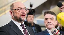 Sondierungspapier mit CDU/CSU: Widerstand in SPD gegen GroKo wächst