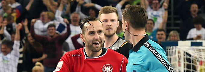 """Video-Handball-Held Heinevetter: """"Es war ein glücklicher, ein dreckiger Punkt"""""""