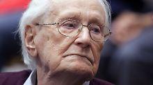 Gnadengesuch abgelehnt: Ex-SS-Mann Gröning muss in Haft