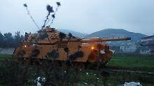 Operation Afrin: Eröffnet Erdogan ein neues Schlachtfeld?