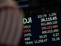 Trübe Stimmung an den Börsen: Dow Jones bewegt sich leicht nach unten
