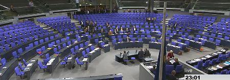 Zu wenige Abgeordnete da: Bundestag bricht Sitzung nach AfD-Antrag ab