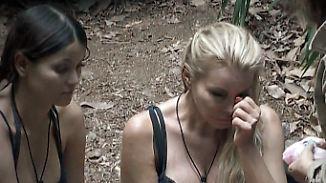 Große Emotionen im Dschungel: Am zweiten Tag kullern bei einigen Campbewohnern Tränen