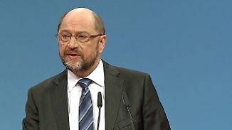 """Schulz warnt seine Genossen eindringlich: """"Wer sagt denn, dass Neuwahlen den rechten Rand nicht stärken?"""""""