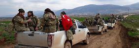 """Berlin, Paris und Damaskus einig: """"Türkei muss Afrin-Angriff stoppen"""""""