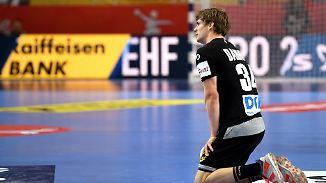 Kaum noch Aussichten aufs Halbfinale: Deutsche Handballer kassieren bittere Pleite gegen Dänemark