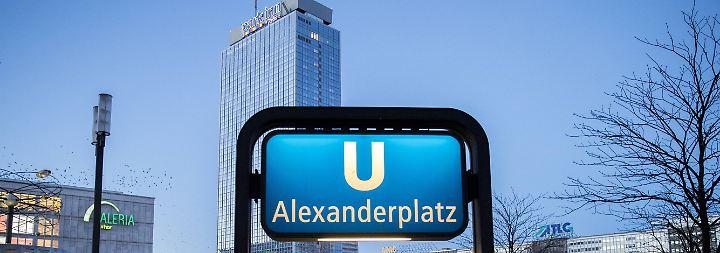 Der Berliner Alexanderplatz gilt als Hotspot der Kriminalität.