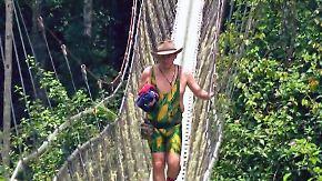 Dritter Tag: Von wegen Spaßbad: Matthias Mangiapane geht im Dschungel unter