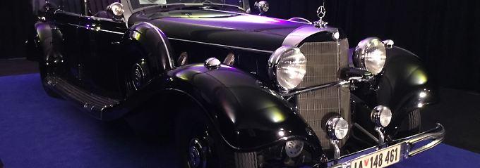 Der Mercedes-Benz 770k aus dem Jahr 1939 sollte mehr als sieben Millionen Dollar erwirtschaften.