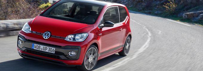 Immerhin 115 PS kitzelt VW aus dem kleinsten Auto der Palette raus.