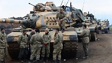 Militäroffensive in Syrien: USA rufen Türkei zur Zurückhaltung auf