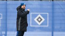 Als Profi eher grob statt genial: Verzweifelter HSV hängt sich an Hollerbach