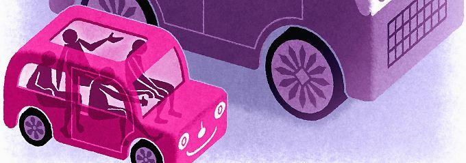 Das Gesamtentgelt, welches die Mitfahrer bei einer Fahrgemeinschaft zahlen, sollte die Betriebskosten der Fahrt nicht übersteigen.