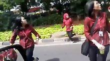 US-Minister zu Besuch: Schweres Beben erschüttert Jakarta