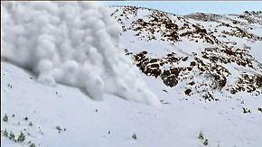 Höchste Warnstufe in den Alpen: So entstehen tödliche Lawinen