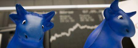 Wie dünn ist die Börsenluft?: Dax schließt so hoch wie nie