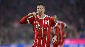 Tops und Flops der Bundesliga: Lewandowski bleibt zu Hause gefährlich