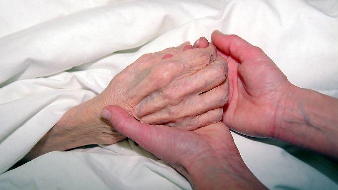 80 Prozent der US-Amerikaner wollen lieber zuhause sterben als im Krankenhaus.