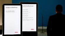 """Abbau der """"Zwei-Klassen-Medizin"""": Union deutet Kompromisslinie mit SPD an"""