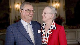 Ein Bild aus besseren Tagen: Prinz Henrik und Königin Margarethe II.