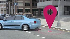 Lücken-Lotse in Innenstädten: Apps sollen lästige Parkplatzsuche erleichtern