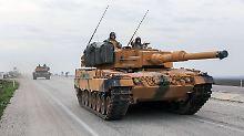 Leopard 2 in Syrien: Türkei bestätigt Einsatz deutscher Panzer