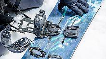 Ausflüge am Berg: Mit Splitboards gehen Snowboarder auf Tour