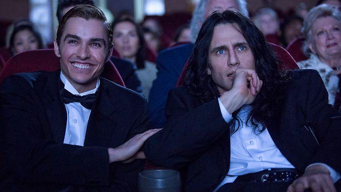 """In """"The Disaster Artist"""" spielen die Brüder Dave (l.) und James Franco zwei ungleiche Freunde mit großen Ambitionen."""
