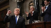 Rede zur Lage der Nation: Trump will Amerikanern Mut machen