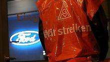 Ausstand erreicht Ford-Werke: IG Metall startet bundesweite Streiks