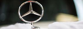 Gute Quartalszahlen bei Daimler: Mercedes-Stern steigt in neue Höhen hinauf