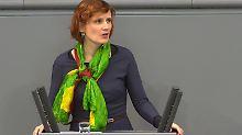 """""""Grenzwertige"""" Solidarität?: Die Linke trägt die Farben der Kurden"""