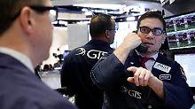 Achterbahnfahrt der US-Börsen: Wall Street schließt uneinheitlich