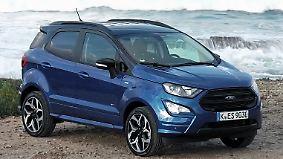 Sportlicher Mini-SUV: Ford Ecosport fühlt sich in jedem Gelände heimisch