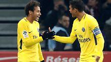 Der Sport-Tag: Paris siegt ohne Draxler und Trapp, aber mit Neymar