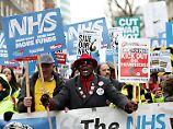 Sterben auf dem Klinikflur: Britisches Gesundheitssystem ist krank