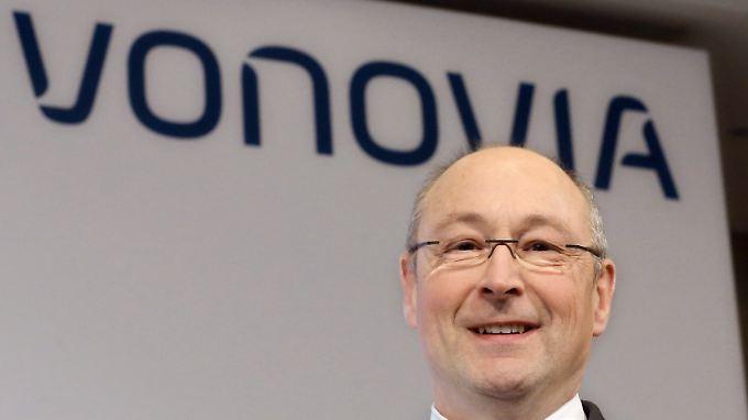 Vonovia-Chef Rolf Buch erwartet grünes Licht von der österreichischen Kartellbehörde.