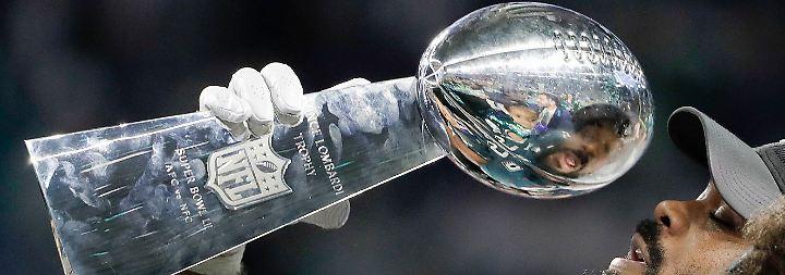 Außenseiter gewinnt Super Bowl: Eagles stoßen Patriots fulminant vom Thron