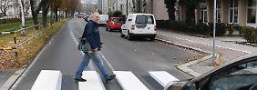 Sicherere Fußgängerüberwege?: Braunschweig erwägt ersten 3D-Zebrastreifen