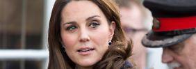 Huch, ein Malheur!: Herzogin Kate steckt fest